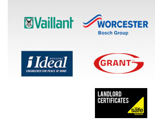 Vaillant, WORCESTER, ideal, VIESSMANN & GRANT, IDEAL, GRANT Boiler Logo's & Gas Safe Landlord Certificate